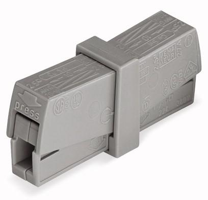 WAGO 224-201 2-fach 0,5-2,5mm²
