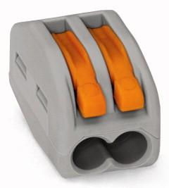 WAGO 222-412 2-fach 0,08-2,5mm²