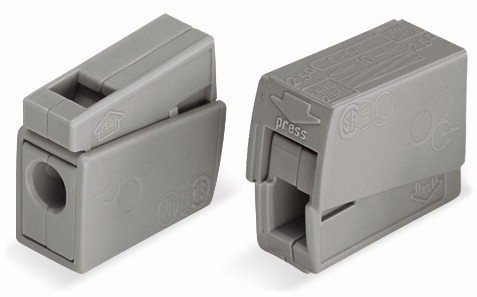 WAGO 224-101 2-fach 0,5-2,5mm²